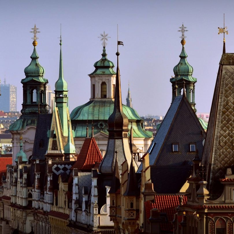 Prague Church Spires