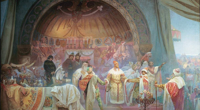Alfons Mucha's Slav Epic in Prague