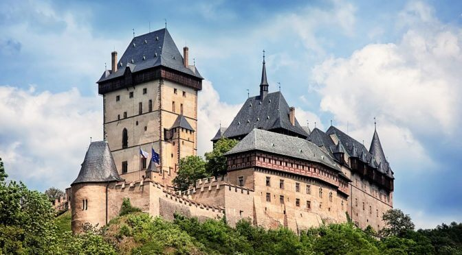 Karlstejn Castle in Czech Republic