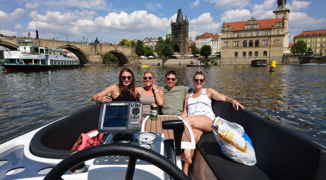 Private Day or Evening River Cruise on the Vltava River in Prague