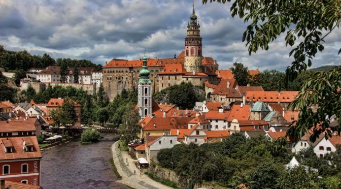 Private sightseeing tour cesky krumlov